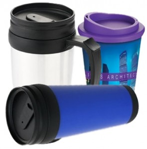 Travel Mugs from Mugs UK, the Company Branding Experts