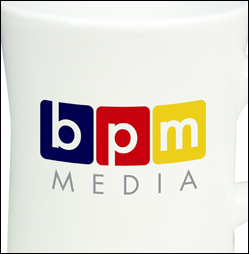 Screen Print Image on a Promotional Mug