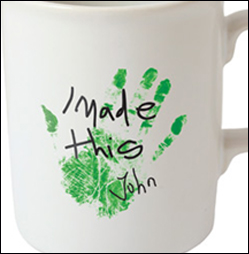 Promotional Mugs with logo using Transfer Printing are just one of the decorating options available from MUGS UK.