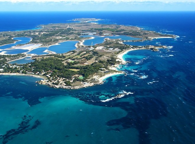 rottnest-island-aerial-photo